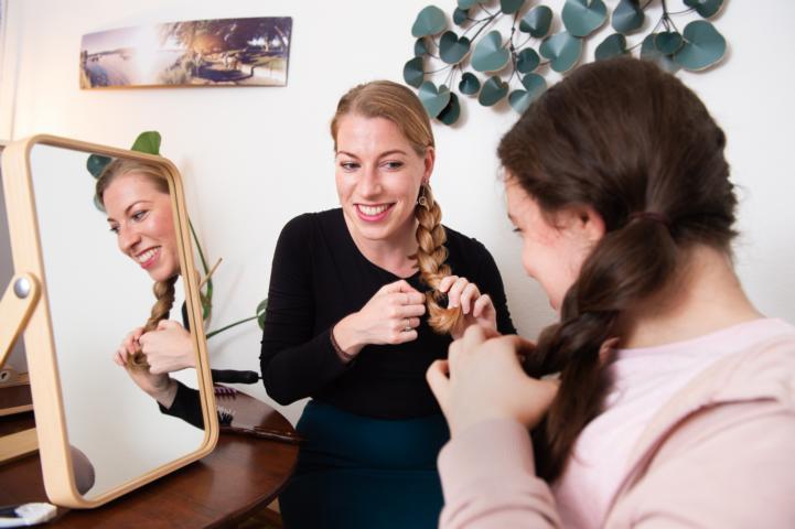 ¦ workshop haare flechten ¦ flechtfrisuren lernen ¦ Haarkurs Kathrin Pützer