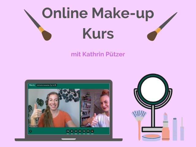 ¦ schminkkurs ¦ online make-up kurs ¦ schminken lernen ¦ kathrin puetzer