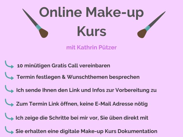 ¦ online make-up kurs ¦ schminken lernen ¦ schminken für anfaenger ¦ kathrin pützer